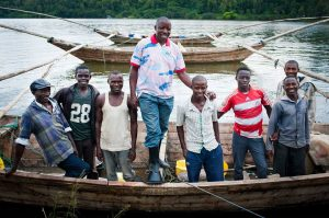 Vayando_Fishermen_on_Lake_Kivu